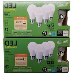8 pack SD LED 12W 2700K Warm White Indoor/Outdoor Flood Ligh