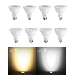 8 x PAR30 LED Flood Light Bulbs Dimmable 900 Lumens Daylight