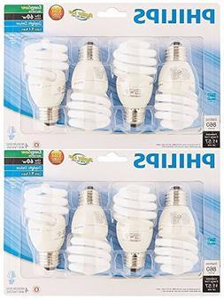 Philips 823031 CFL Light Bulb 13W T2 Twister Daylight 6500K,
