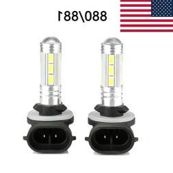 880 881 H27  Fog Driving Light Bulbs White LED High Power 16