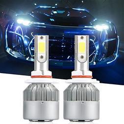9006 LED Headlight Bulbs, LinkStyle 2Pcs 6500K Cool White LE