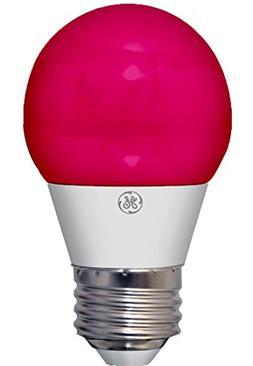 GE Lighting 92132 3-Watt LED Party Light Bulb with Medium Ba