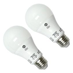 GE 92398 - LED11DAV/3/5K-2PK A Line Pear LED Light Bulb