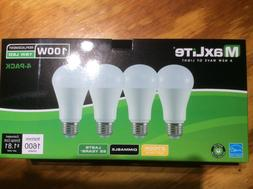 96 bulbs Maxlite LED 100 Watt Equivalent A type Light Bulb -