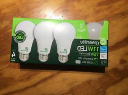 96 bulbs New 75 Watt Equivalent  A19 LED Light Bulb 3000K di