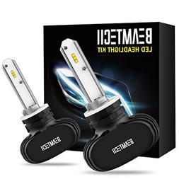 BEAMTECH 880 LED Headlight Bulb, 50W 6500K 8000Lumens Extrem