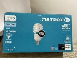 Ecosmart 23-Watt  CFL Light Bulb, Soft White