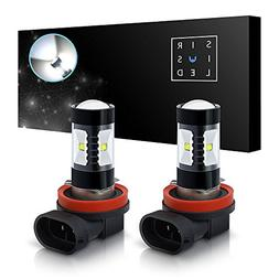 SiriusLED H8 Size DRL Fog Light LED 30W 6000k Super Bright W