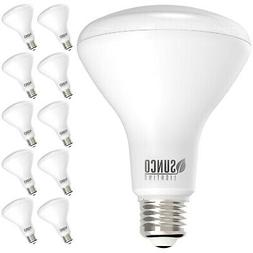 Sunco Lighting 10 Pack BR30 LED Bulb 11W=65W, 2700K Soft Whi
