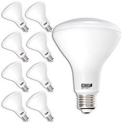 Sunco Lighting 8pk BR30 LED 11W 2700K Warm White Indoor Outd