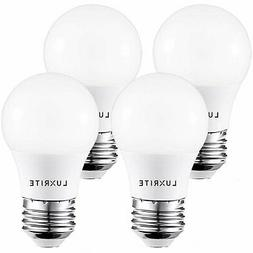 Luxrite A15 LED Light Bulb 40W Equivalent Dimmable 3000K 450