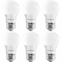Luxrite A15 LED Light Bulb 40W Equivalent Dimmable 3000K 600
