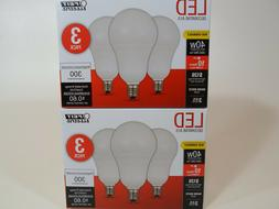 Feit A15 40-Watt LED Light Bulb Candelabra Base  - Soft Whit
