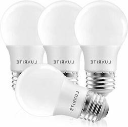 Luxrite A15 LED Light Bulb, 40W Equivalent, 5000K Daylight W