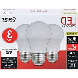 Feit Electric A1560/10KLED/3 Feit 60W Equivalent Frost A15 W