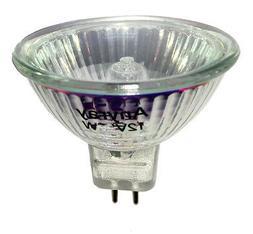 Anyray A1884Y  MR16 12V 50 Watt Flood Halogen light Bulbs GU