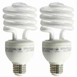 GE A19 3 Way CFL Spiral Light Bulb 16/25/32W 2700K 600/1600/