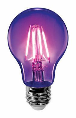 a19 blb led non dimmable black light