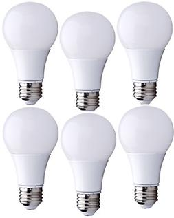 Bioluz LED A19 6w 40 Watt Equivalent ECO Series Soft White 2
