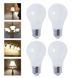 A19 LED 800 Lumen Light Bulb 2700K Warm White 6.5W 60W Equiv