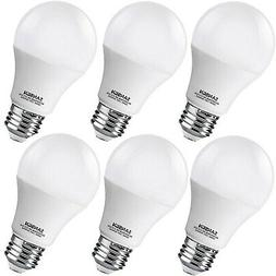 Led Light Bulb White A19 Equivalent Dimmable 60w Pack Bulbs