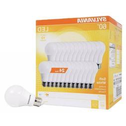 A19 LED Light Bulbs 60 Watt Equivalent 800 Lumens 2700K Soft