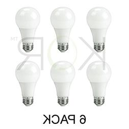 9W LED A19 Light Bulb - Equivalent to 60W - Non Dimmable -
