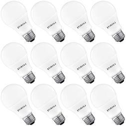 Luxrite A19 LED Light Bulb 100W Equivalent, 5000K Bright Whi