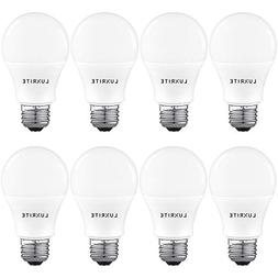 Luxrite A19 LED Light Bulb 100W Equivalent, 4000K Cool White