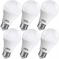 A19 LED Light Bulbs 60 Watt Equivalent, SANSUN 4000K Dayligh