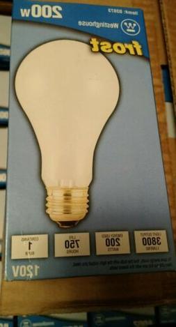 Westinghouse - A21 Incandescent Soft White Light Bulb, 200-W