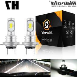 Amazing H7 LED Headlight Bulbs Conversion Kit High Low Beam
