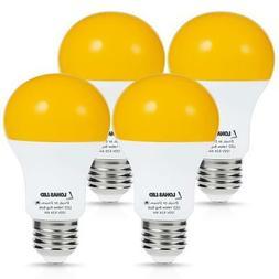 LOHAS Amber Light Sensor Dusk to Dawn LED Bulbs, Bug Light B