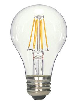 Satco Antique LED 6.5W A19 Dimmable 2700K S9562 Vintage Bulb