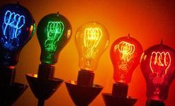 Antique Replica Light Bulbs - A23 Quad Loop - Color Variety