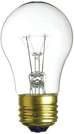 Appliance/Fan Bulb 40W A15 Clear 40A15/CL-130
