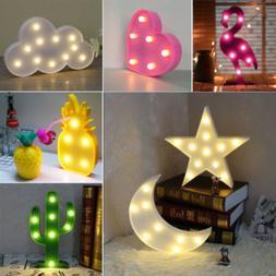 Baby Kids Sleeping LED Night Light Bed Desk Wall Lamp Bulb H