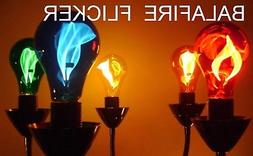 Balafire Flicker Flame Light Bulbs - Color Variety