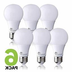 Bioluz LED 60 Watt Light Bulb, LED Light Bulbs 60 Watt Repla