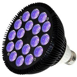 Black Lights Bulb 36W Led Uv Light Glow In The Dark 395Nm Le