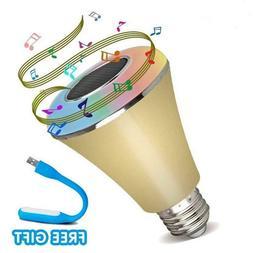 Bluetooth Light Bulb  Light Bluetooth Control Stereo Audio M