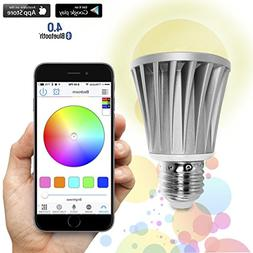 Flux Bluetooth LED Smart Bulb - Wireless Multi Color Changin