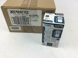 Box Of 12 TCP 33118SP 35K 18W Spring Lamp Light Bulbs GU 24