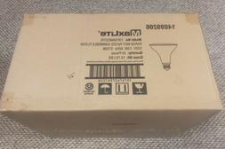 Box of 24 maxlite led flood light bulb, wet rated dimmable 1
