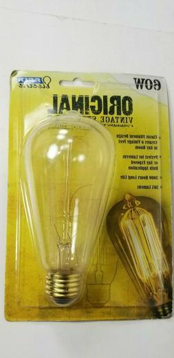 Feit Electric BP60ST19 60-Watt 120-Volt Vintage Style Bulb,