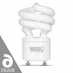 Feit BPESL13T/GU24 60W Equivalent CFL Twist GU24 Base Bulb P