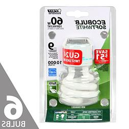 Feit BPESL13T/GU24 60W Equivalent CFL Twist GU24 Base Bulb ,