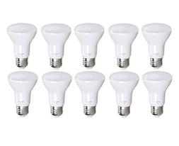 10 Pack Bioluz LED Br20 LED Bulb Dimmable 7w  2700K Bright W