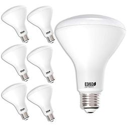 Sunco Lighting 6pk BR30 LED 11W 5000K Daylight Dimmable Indo