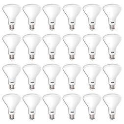 Sunco Lighting 24 Pack BR30 LED Bulb 11W=65W, 3000K Warm Whi